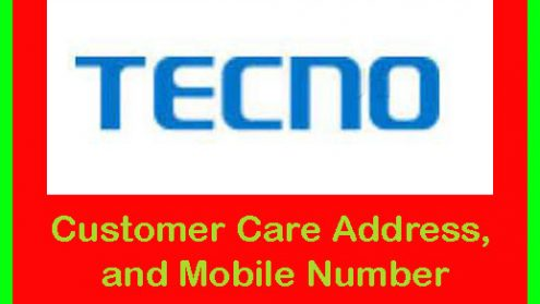 Tecno Customer Care Address, and Mobile Number in Bangladesh